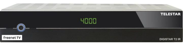 TELESTAR Digistar T2 IR DVB T2 HD Receiver für 29€ (statt 125€)