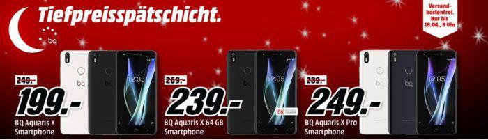 BQ Aquaris X Pro   5,2 Full HD Smartphone mit 64GB oder 128GB ab 249€ (statt 264€)