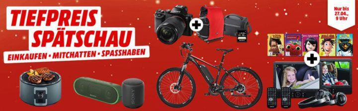 Media Markt Tiefpreisspätschau: u.a. TREBS 99338 Tischgrill für 64€