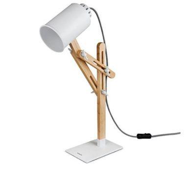Tomons Holz Schwenkarm Designer Lampe für 23,99€