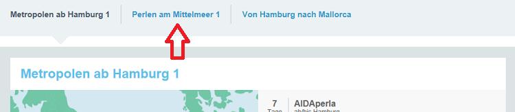 Neue AIDA Angebote z.B. 7 Tage Metropolen ab Hamburg 1 mit AIDAperla ab/bis Hamburg von Juni bis September 2018 ab 649 Euro p. P. inkl. 100 Euro Bordguthaben