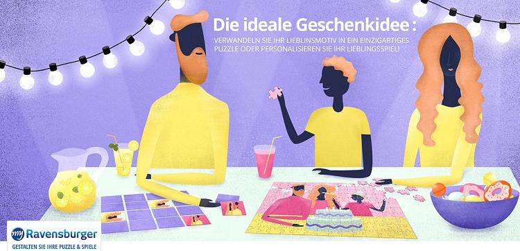 my Ravensburger   personalisierbare Puzzle und Spiele auf Vente Privee ab 9,90€