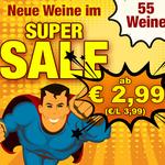 55 Weine ab 2,99€ pro Flasche (6 Flaschen MBW)