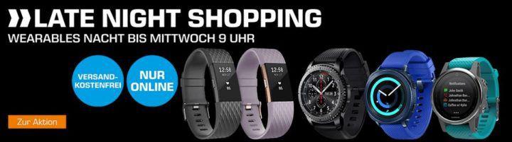 Saturn Late Night: Wearables Nacht    günstige Smart & Fitnessuhren: z.B. HUAWEI Watch GT für 199€ (statt 228€)