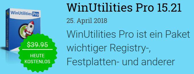 WinUtilities Pro (Windows) kostenlos