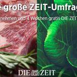 """4 Wochen """"Die Zeit"""" gratis lesen – Kündigung notwendig"""