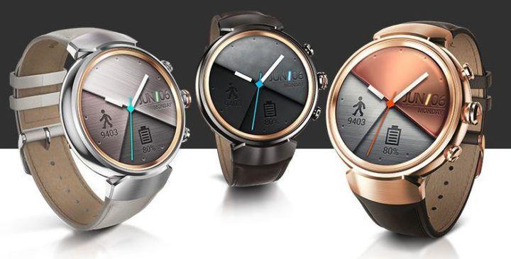 ASUS Zenwatch 3 Smartwatch in Gunmetal Grey für 129€ (statt 183€)