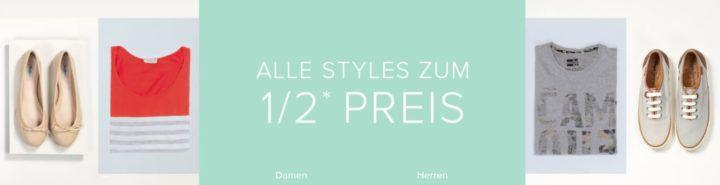 Dress for less Sale mit bis zu 50% Rabatt + 10% NL Gutschein