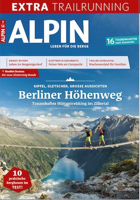 """12 Ausgaben der Zeitschrift """"Alpin"""" für 64,80€   Prämie: 50€ Verrechnungsscheck"""