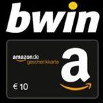 Bonus Deal: 10€ Wetteinsatz bei bwin und 10€ Amazon-Gutschein* erhalten