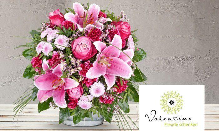 14€ Valentins Blumen Gutschein ohne MBW für 7€