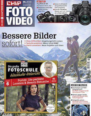 6 Ausgaben Chip Foto Video für 36,90€ + 30€ Gutschein