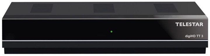 TELESTAR digiHD TT3 (DVB T 2 Receiver, USB Mediafunktionen) für 19,99€ (statt 42€)