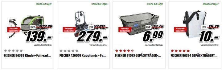 Media Markt Fisher Tiefpreisspätschicht   eBikes und Zubehör z. B. FISCHER eTrekkingrad für 999€