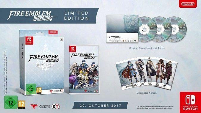 Fire Emblem Warriors (Limited Edition) für Nintendo Switch für 39€ (statt 48€)