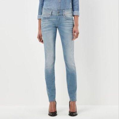 G Star RAW   Lt Aged Damen Skinny Jeans für 42,95€