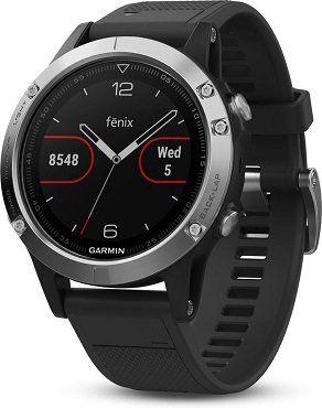 GARMIN FENIX 5 Silber   Sport Smartwatch für 279,90€ (statt 329€)