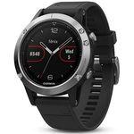 GARMIN FENIX 5 Silber – Sport-Smartwatch für 339,90€ (statt 370€)