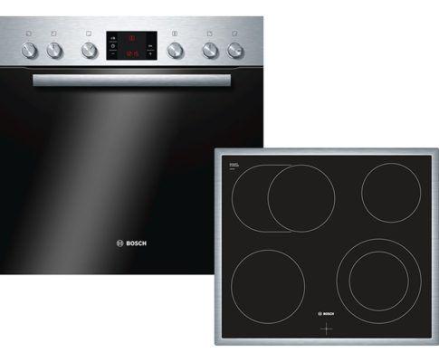 Bosch HND62PS50 Einbauherd Set mit Glaskeramik Kochfeld für 599€ (statt 676€) + 75€ Cashback
