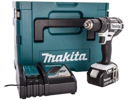 Makita DHP482RFJ 18 V Kombibohrer mit 1 Akku (4,0 Ah) für 175,90€ (statt 198€)