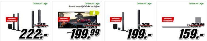 Media Markt Mega Marken Sparen: günstige Artikel von Sony, LG, Acer und JBL
