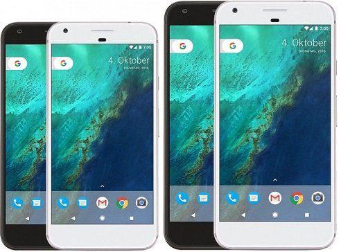 Google Pixel und Google Pixel XL mit 32GB für jeweils ab 305,91€   Retourengeräte!