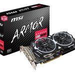 MSI Radeon RX 580 Armor 8GB OC (V341-064R) mit 3 Spieledownloads ab 222,69€ (statt 273€)