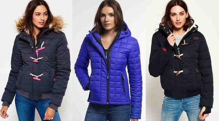 Verschiedene Superdry Jacken für Damen für 49,95€