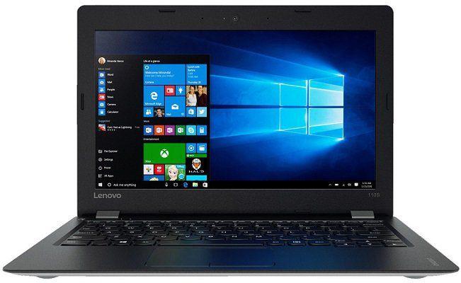 LENOVO IdeaPad 110S   11,6 Netbook mit 2 GB RAM, 32 GB und Windows 10 für 129€ (statt 177€)