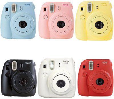 Fujifilm Fuji Instax Mini 8 Sofortbildkamera (refurbished) für 45,95€ (statt neu 66€)