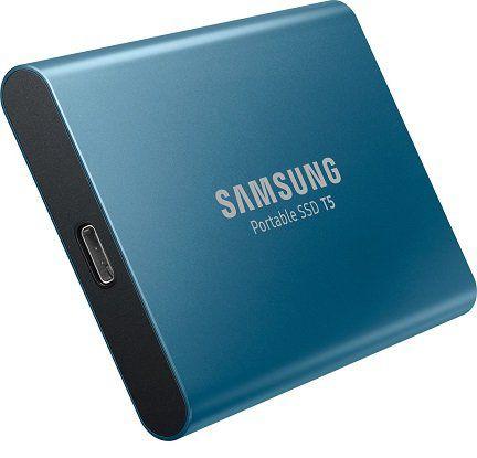 SAMSUNG Portable SSD T5 externe SSD mit 500GB für 111€ (statt 121€)