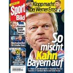 Sport Bild – 13 Ausgaben für 33,80€ + 35€ BestChoice Gutschein