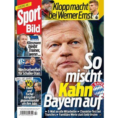 Sport Bild   13 Ausgaben für 33,80€ + 35€ BestChoice Gutschein