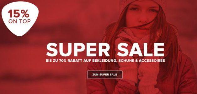 Vaola Super SALE bis 70% Rabatt + Schuhe, Jacken und Lifestyle mit 15% extra Rabatt