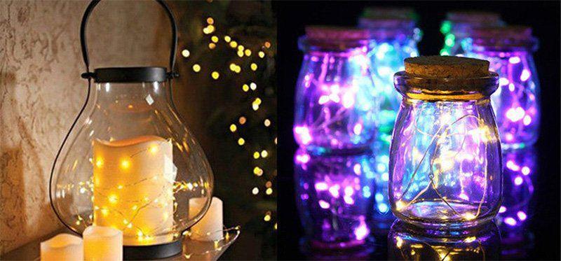 3m LED Lichterkette zum Dekorieren für 1,10€