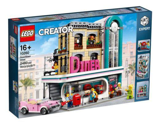 LEGO Creator 10260 American Diner für 109,99€ (statt 150€)