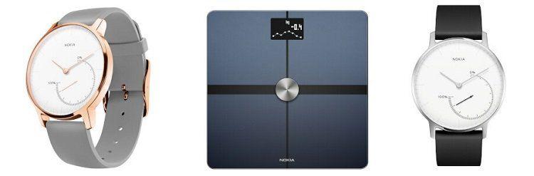 Nokia (Withings) Sale bei Vente Privee   z.B. Nokia Steel ab 77,90€ (statt 108€)