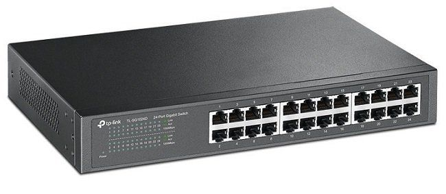 TP LINK TL SG1024D 24 Port Gigabit Switch für 57€ (statt 67€)