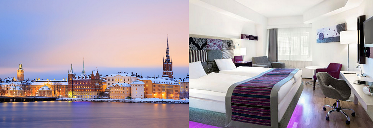 2   4 ÜN im 4* Hotel in Stockholm inkl. Frühstück, Saunanutzung & Flüge ab 149€ p. P.