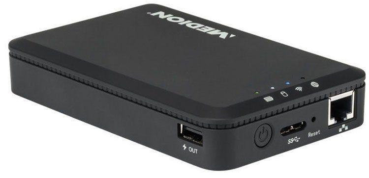 MEDION LIFE S88411 (MD 92511)   1TB WLAN Festplatte für 79,99€ (statt 120€)