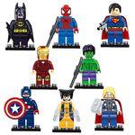 Vorbei! 8 Superhelden als Spielfigur für 4,92€