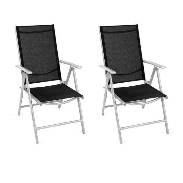 2er Set Giardino Aluminiumstühle für 54,51€ (statt 70€)
