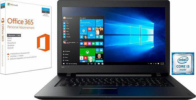 Lenovo IdeaPad 110 17   17 Zoll Notebook mit Win10 + Office 365 Personal für 338,95€ (statt 425€)