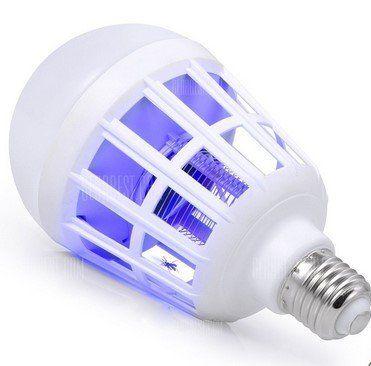 YWXLight E27 LED Lampe mit Fliegenfänger für 3,40€