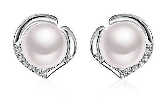 J.Rosée   Damenohrringe aus 925er Sterling Silber für 4,87€ (statt 17€)