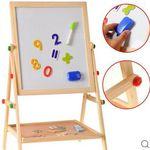 Doppelseitige Holz-Magnet-Standtafel für 29,89€