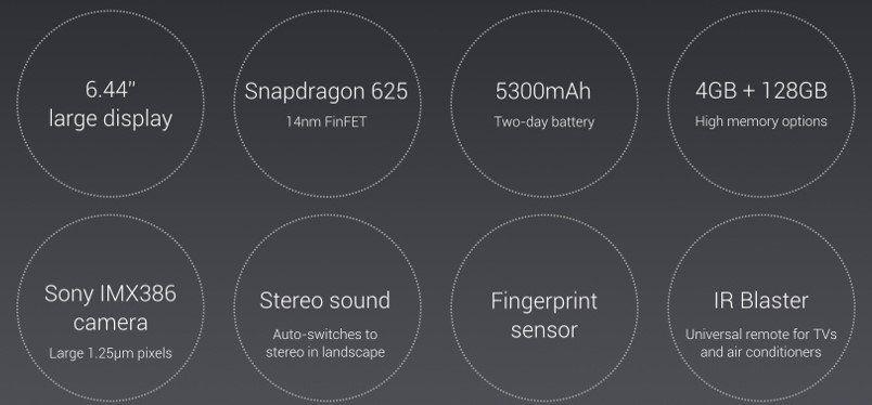 Xiaomi Mi Max 2   6,44 Zoll LTE Smartphone mit 4GB RAM & 128GB ROM für 215,93€ (statt ~250€)