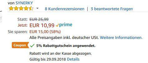 8 Edelstahl Eiswürfel für 10,44€   Prime