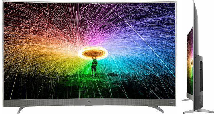 TCL U55P6096 LED TV (Curved, 55 Zoll, UHD 4K, SMART TV, Android TV) für 499€ (statt 565€)