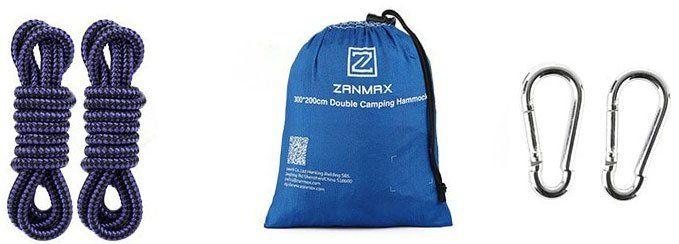 ZANMAX HM   3020   Hängematte (bis 275kg) für 14,85€ (statt 20€)